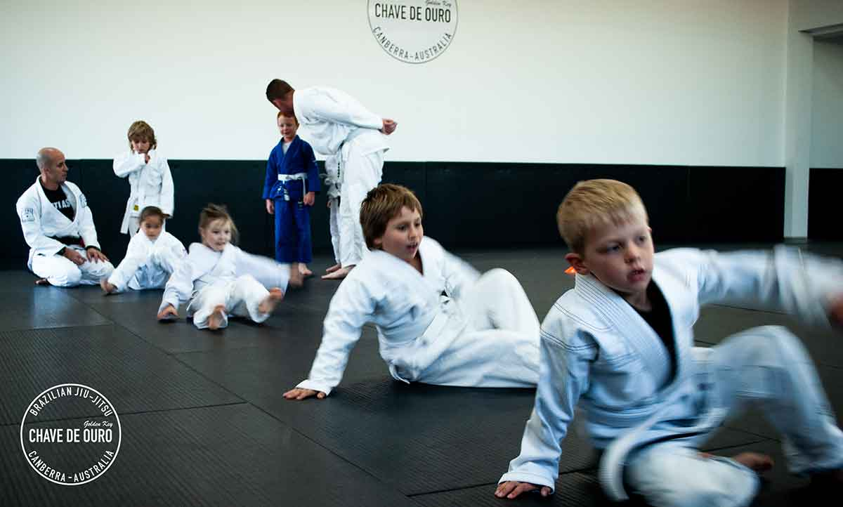 chave de ouro canberra BJJ kids